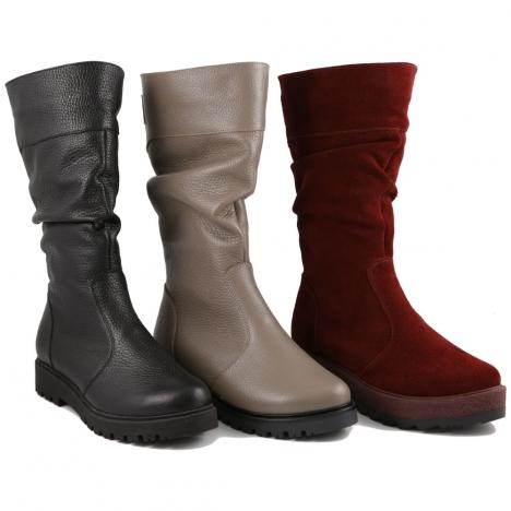 7546c8c1b Полусапоги женские №255-Р - Днепропетровская обувная фабрика POLI, Украина